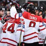 Канадцы забросили 5 шайб словакам начемпионате мира