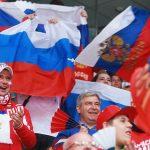 Сборная Российской Федерации вышла вполуфиналЧМ похоккею, разгромив Германию