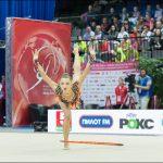 Белорусские гимнастки выиграли «золото» наэтапе Кубка мира вМинске