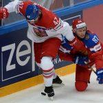 РФ уступила Чехии впервом матчеЧМ похоккею